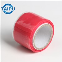 Green Self-Fusing Amalgamating Double Sided Soft Adhesive Pipe Repair Silicone Thermal Rubber Rescue Self Fusing Tape