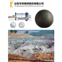 Algeria Gold Mine Use Forged Grinding Steel Media Balls For Sale