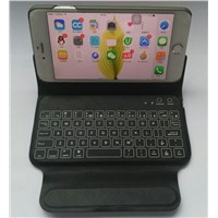 Perfect Typing Experience Mini Mobile Phone Bluetooth Keyboards with Case Protection