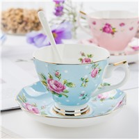 Wholesale Large Fine Bone China Tea Cups & Saucers