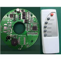 DC Solar Fan Card, BLDC Controller, 12V DC Fan PCB, High Quality Motor Controller