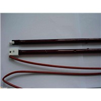 Infrared Quartz Tube Shortwave Ruby Heating Lamp