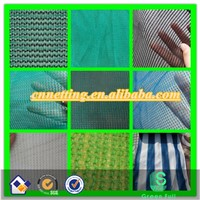 Green Color Shade Netting for Agricultural, 100% Virgin HDPE with Anti-UV Protect Addition, Widely Used In Garden & Ind