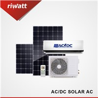 AC/DC Hybrid Solar Air Conditioner