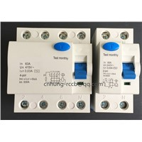 CNHUNG RCCB F360 New Type Residual Current Circuit Breaker