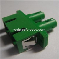 Fiber Optic Hybrid Adapter Adaptor SC-ST ST-SC Duplex Metal Housing