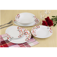Ceramic Dinnerware, Cup & Saucer, Whiteware