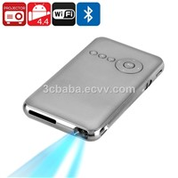 1GB+16GB RK3128 Android4.4 Mini DLP Projector with WiFi, Bluetooth