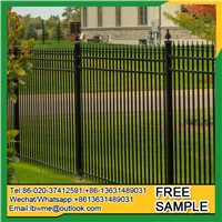 Bhopal Cheap Wrought Iron Fence Aluminum Fence