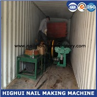 China 1 Inch to 3 Inch Diameter 1.6mm to 3.2mm Carbon Steel Nail Making Machine