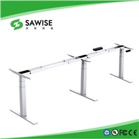 New Design 3 Legs Height Adjustable Desk Frame