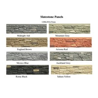 PU Artificial Stone Wall Panel Wall Decoration