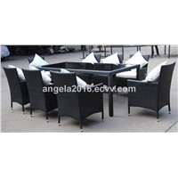 Rattan Furniture Pool Chair Dining Set