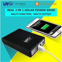 Solar Power All in One Portable Solar Power Bank for Mobile Phone