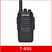 T-650 10W UHF VHF 2500MAH TOT Analog Two Way Radio