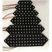 Colorful LED 7 Segment Display Outdoor