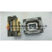 Yamaichi Ic Test Socket IC201-1004-028P QFP100PIN 0.65mm Pitch Burn In Socket