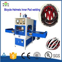 15KW High Frequency Welding Cutting & Embossing Bike Helmet Inner Pad Making Machine