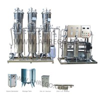 2000L RO System Water Purification Line