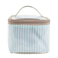 Meal Takeaway Bag Package Food Delivery Handbags Striped Pattern Water Proof Keeping Cold/Warm