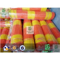 Warning Net Material: PE with U. V. Resistant&Fire Retardant Treatment
