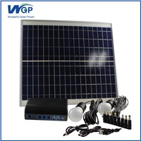 High Capacity Solar Power Battery Charger with 20W Monocrystallin Silicon Solar Panel