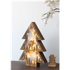 2017 Cheap Deer Wooden LED Decorative Standing Christmas Tree Light