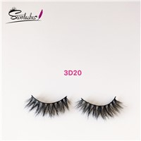 3D20 Perfect 100% Mink Hair 3D Fashion False Eyelashes Branded Makeup Kits