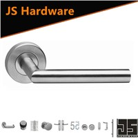 Hot Sale Stainles Steel Door Handle with Rose