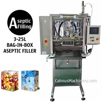 BIB Aseptic Filler Sterile Products Bag in Box Aseptic Filling Machine