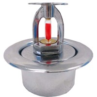 Brass Vinking Fire Sprinkler with Escutcheon Plate