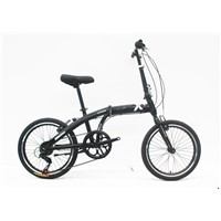 "20""STEEL FOLDING BIKE FRAME STEEL RIGID FORK FOLDING BIKE"