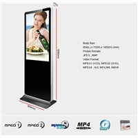 Pop 55 Inch Advertising Signs, Digital Signage, Digital Displays for Hotel Lobby