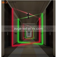 LED Window Lamp 5W/9W Ceiling Mounted, Window Door Gallery Decorative Lamps Rgbw Changing Color DMX512 DC24V
