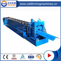 PLC Controlled Color Coated Steel Metal Ridge Sheet Forming Machine