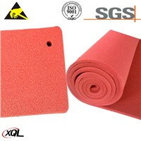 Professional Factory Supply Colorful Silicone Sponge Foam Rubber Sheet