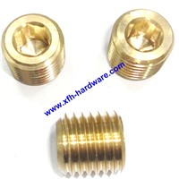 Autoturning Brass/ Brass Hexagon Nut Blind Hole/Inner Hexagon Socket Adpter Sleeve Screw