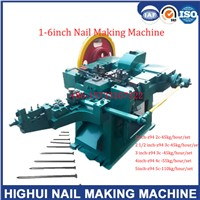 Z94 4c 4 Inch Wire Nail Making Machine with 55kg/Hour/Set, 16 Hours 7 Sets with 6 Tons