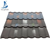 Factory Price Fireproof Roofing Tiles Galvalume Base Sheet Building Materials Stone Coated Steel Roof Shingle Philippine