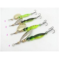 15g Spinner Fishing Lures Metal Lures Fishing Tackle Artificial Insect Lures