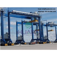 Railway Tunnel Heavy Duty Tyred Type Gantry Crane