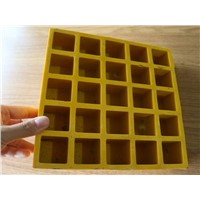 FRP Grating Fiberglass Pattern Solid Top Grating