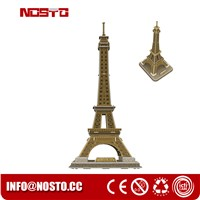 Assembly Toys La Tour Eiffel Gift Crafts Educational Toys for Kids