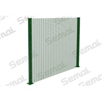 358 Anti Climb Fence with Flanged Base Type