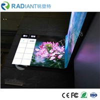 P4.0 Wholesale Curved TV Studio HD Flexible LED Video Wall