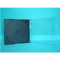 CD Case Blank DVD Cover Blank CD Box 5.2mm Silm Square with Black Tray(YP-E501H)
