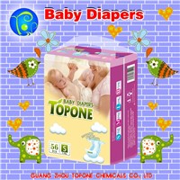 2017 Strong Absorption Magic Tap Baby Diapers from China