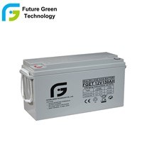 12V 150ah Deep Cycle VRLA AGM Lead Acid Solar Power Storage Battery