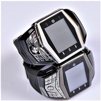 Bluetooth Ultra-Thin Quad-Band Watch Mobile Phone GD910