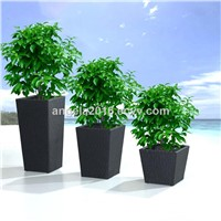 Wholesale Durable & Washable Rattan Flower Pot Planter/Colors Customized Garden Planter for Sale